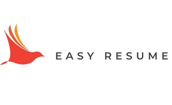 Orange logo of Easy Resume