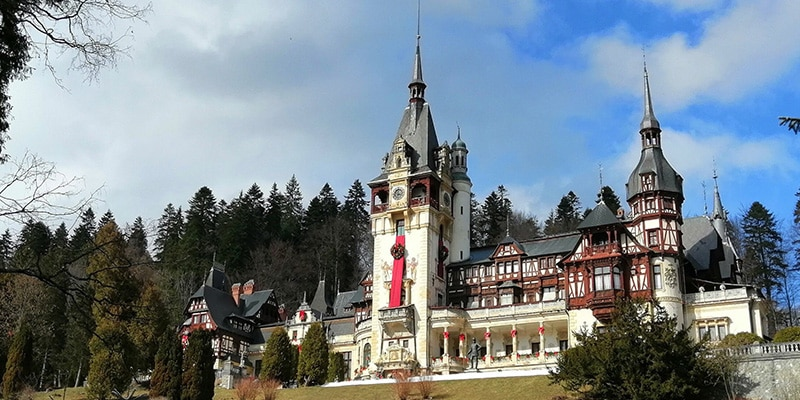 Peles Castle in Romania