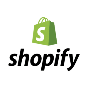 Green Shopify logo